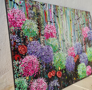Summer Garden - Large Painting