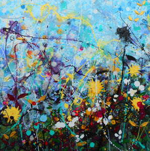 Wildflowers - Triptych