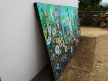 Equilibrium - Large painting on two panels