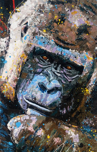 Gorilla - Large Artwork