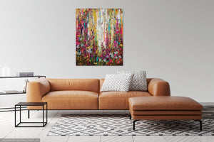 Harlequin - Large Painting