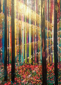 The Forest - Large painting