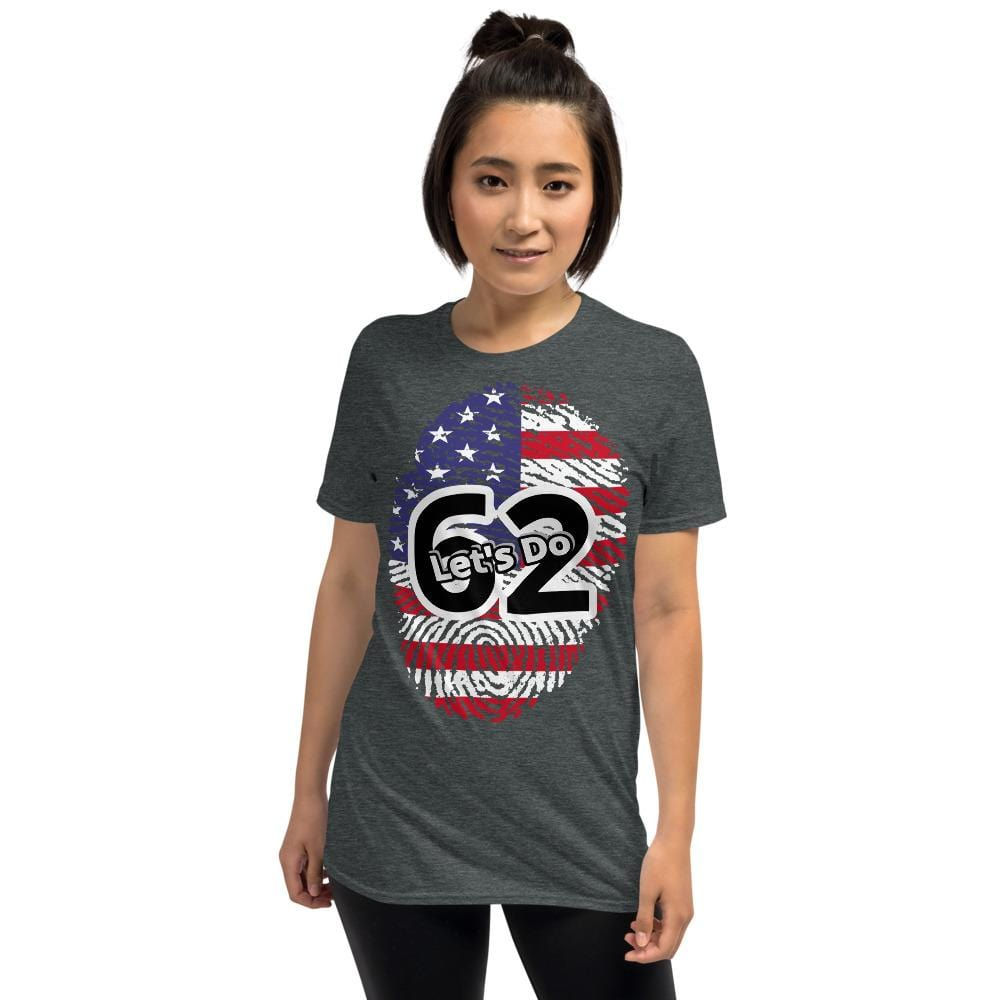 Lets Do 62 T-Shirt Grey-associate degree nurse-nursemania.com