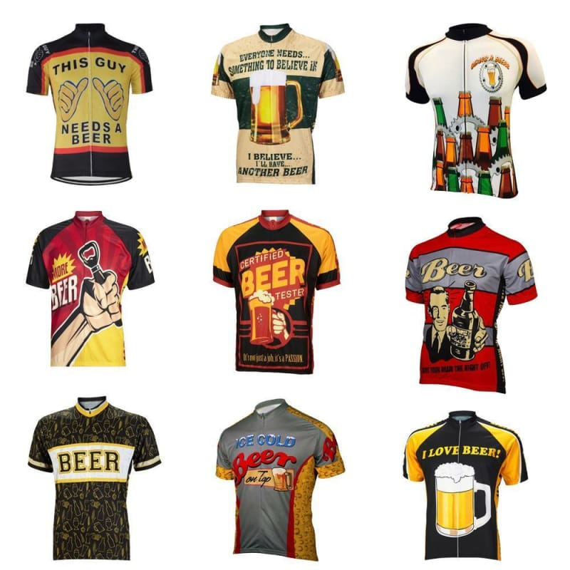 I Love Beer Cycling Jersey De Broad