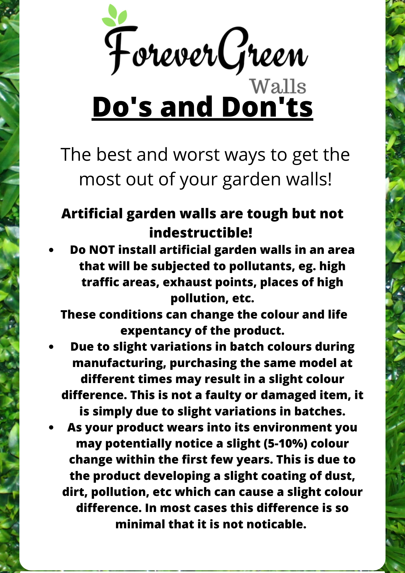 how to install garden walls