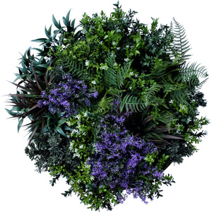 Green Wall Disk - Purple Rain 60Cm