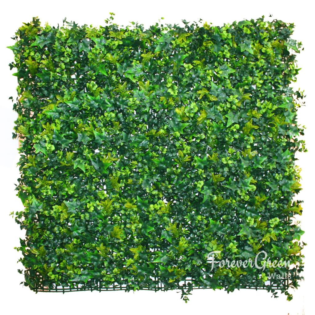 Triple Ivy | Artificial Plant Panel Artificial Plant Panel