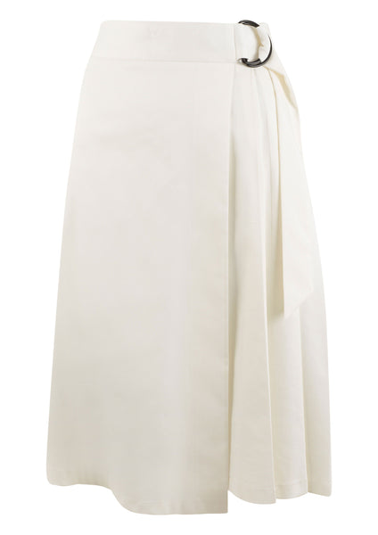 Closet London- Pleated A-line Midi Skirt - Midi Closet