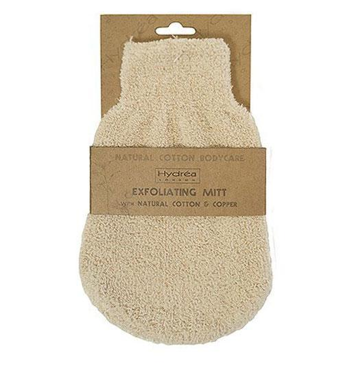 Exfoliating Mitt Linnen with Copper Retail Hydrea London