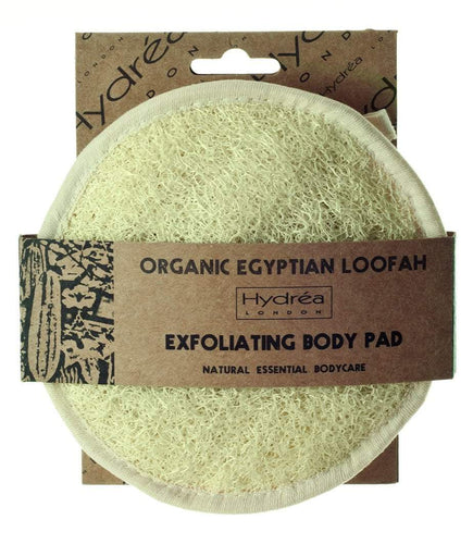 Organic Egyptian Loofah Body Pad 15cm Retail Hydrea London