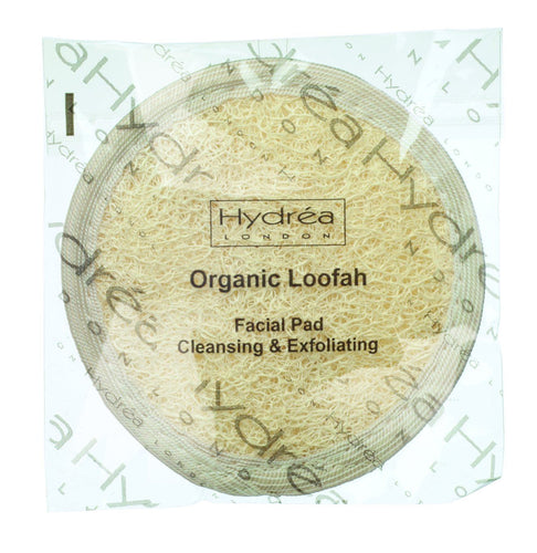 Organic Egyptian Loofah Face & Body Pad 10cm Retail Hydrea London