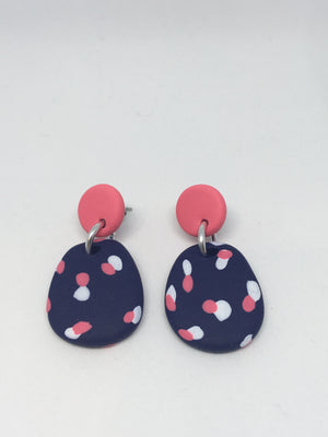 Tayla - Navy Small Dangles