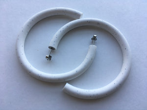 Ness - Marble Lounge Hoops