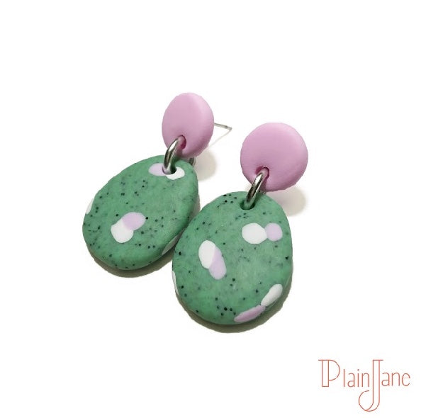 Melinda - Green Small Dangles