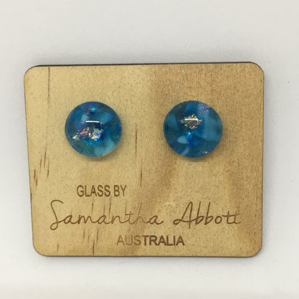 Blue Beauty Studs