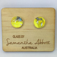 Tamo - Yellow Sparkle Studs