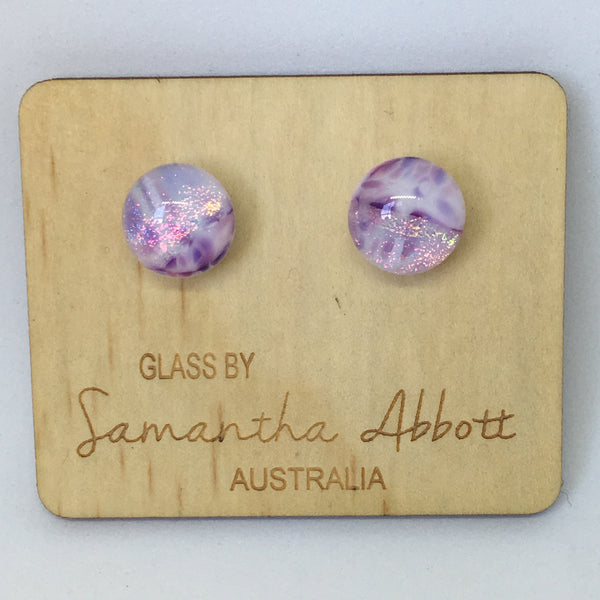 Lovely Lilac Studs