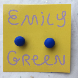 Ultramarine Stud Earrings