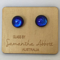 Electric Blues Studs