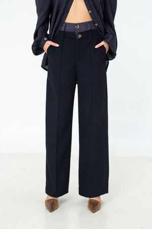 LAGEMMA Double waisted trousers
