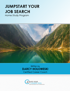 "$14.99 - HallieCrawford.com's ""Jumpstart Your Job Search"" Home Study Program - E-workbook and audios"