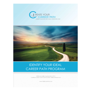 "$39.99 - HallieCrawford.com's ""Identify Your Ideal Career Workbook"" (Paperback) As a Gift For Your Friend or Family Member"