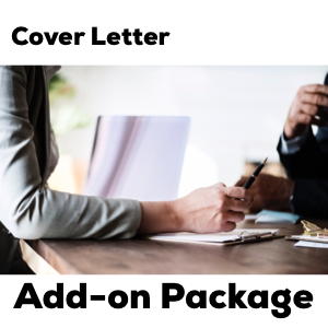$110 - HallieCrawford.com Cover Letter Add-on Package