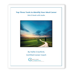 "Free Ebook - HallieCrawford.com's ""Top 3 Tools To Identify Your Ideal Career"" E-Book"