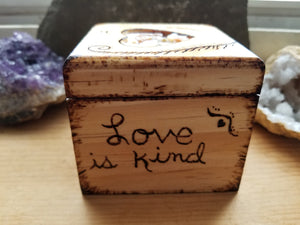 Love is Kind Trinket Box