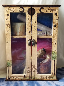 Witch's Metaphysical Cabinet