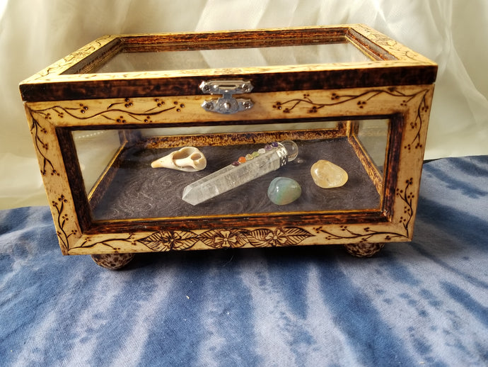 Flowering Vine Keepsake Box