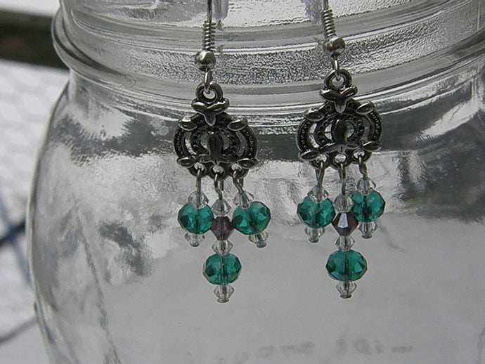 Celtic Crystal Earrings
