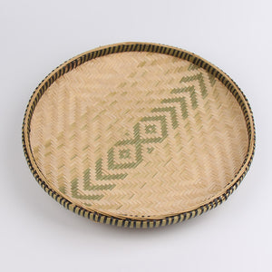 Mill MaisonMill Maison SAGIA ROUND NATURAL BAMBOO WICKER WOVEN BASKET TRAY - Home Decor SAGIA ROUND NATURAL BAMBOO WICKER WOVEN BASKET TRAY - Home Styling Ideas