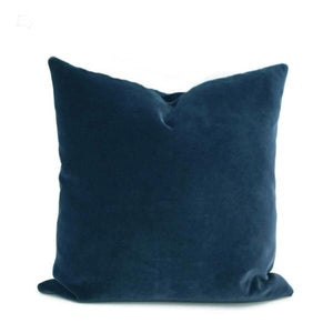 Mill MaisonMill Maison LUXURY DEEP BLUE GREEN VELVET DECORATIVE CUSHION COVER - Home Decor LUXURY DEEP BLUE GREEN VELVET DECORATIVE CUSHION COVER - Home Styling Ideas