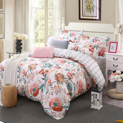 Mill MaisonMill Maison VALENTINA FLORA MODERN BEAUTY DUVET QUILT COVER SET - Home Decor VALENTINA FLORA MODERN BEAUTY DUVET QUILT COVER SET - Home Styling Ideas