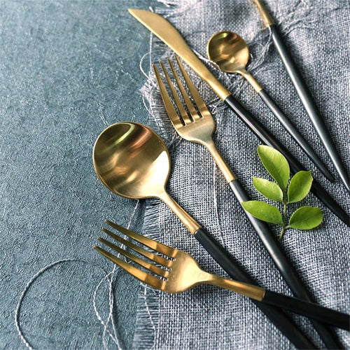 Mill MaisonMill Maison SONATA CONTEMPORARY 4 PIECE FLATWARE CUTLERY SET - Home Decor SONATA CONTEMPORARY 4 PIECE FLATWARE CUTLERY SET - Home Styling Ideas