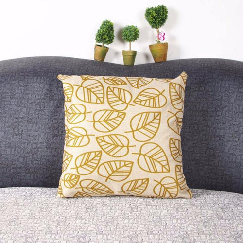 Mill MaisonMill Maison DECORATIVE LEAVE LINEN CUSHION COVER - Home Decor DECORATIVE LEAVE LINEN CUSHION COVER - Home Styling Ideas