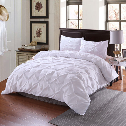 Mill MaisonMill Maison BELLEVILLE CLASSIC LUXURY PINCH PLEAT COTTON DUVET QUILT COVER BEDDING SET - Home Decor BELLEVILLE CLASSIC LUXURY PINCH PLEAT COTTON DUVET QUILT COVER BEDDING SET - Home Styling Ideas