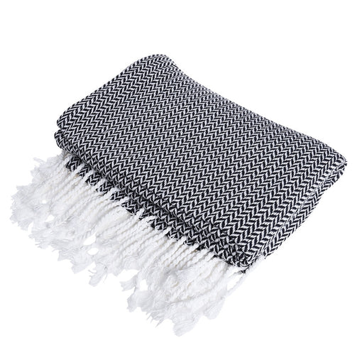 Mill MaisonMill Maison WINOMO LIGHTWEIGHT WOVEN COTTON KNIT REVERSIBLE THROW BLANKET - Home Decor WINOMO LIGHTWEIGHT WOVEN COTTON KNIT REVERSIBLE THROW BLANKET - Home Styling Ideas