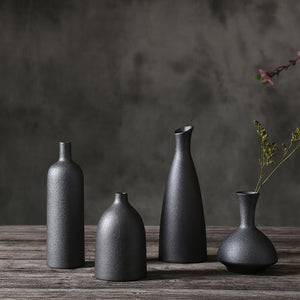 Mill MaisonMill Maison SERI CERAMIC SLATE LOOK CONTEMPORARY DESIGN DECORATIVE FLOWER VASE - Home Decor SERI CERAMIC SLATE LOOK CONTEMPORARY DESIGN DECORATIVE FLOWER VASE - Home Styling Ideas