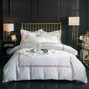 Mill MaisonMill Maison ST CLAIR LUXURY CLASSIC EMBROIDERED EGYPTIAN COTTON DUVET QUILT COVER BEDDING SET - Home Decor ST CLAIR LUXURY CLASSIC EMBROIDERED EGYPTIAN COTTON DUVET QUILT COVER BEDDING SET - Home Styling Ideas