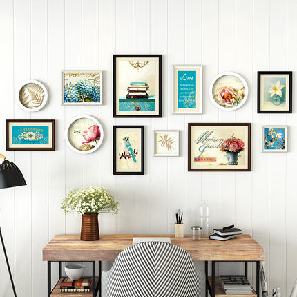 Mill MaisonMill Maison VINTAGE CHIC WOOD DECORATIVE 12 PIECE PICTURE PHOTO FRAME SET - Home Decor VINTAGE CHIC WOOD DECORATIVE 12 PIECE PICTURE PHOTO FRAME SET - Home Styling Ideas