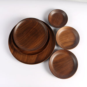 Mill MaisonMill Maison HUNTER WALNUT WOOD DINNERWARE TABLEWARE SERVING PLATES - Home Decor HUNTER WALNUT WOOD DINNERWARE TABLEWARE SERVING PLATES - Home Styling Ideas