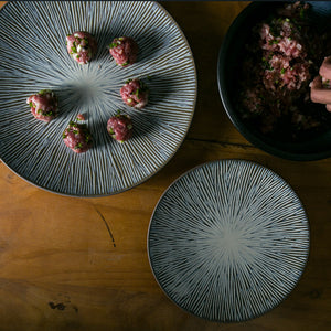 Mill MaisonMill Maison UZURI JAPANESE INSPIRED TEXTURED CERAMIC DINNERWARE PLATES - Home Decor UZURI JAPANESE INSPIRED TEXTURED CERAMIC DINNERWARE PLATES - Home Styling Ideas