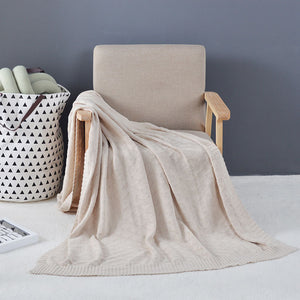 Mill MaisonMill Maison VARMHUS 100% COTTON KNITTED SOFT LUXURY THROW BLANKET - Home Decor VARMHUS 100% COTTON KNITTED SOFT LUXURY THROW BLANKET - Home Styling Ideas