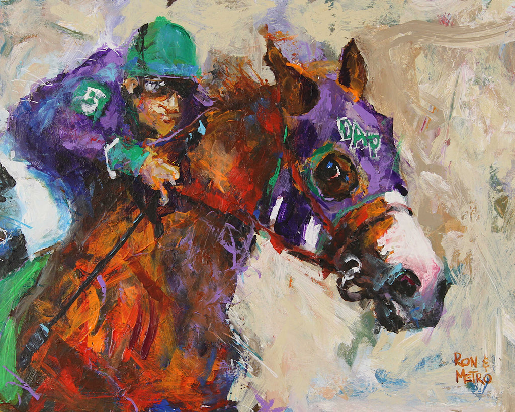 California Chrome Art Print - Ron Krajewski