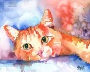 Tabby Cat 030507 - Ron Krajewski Art