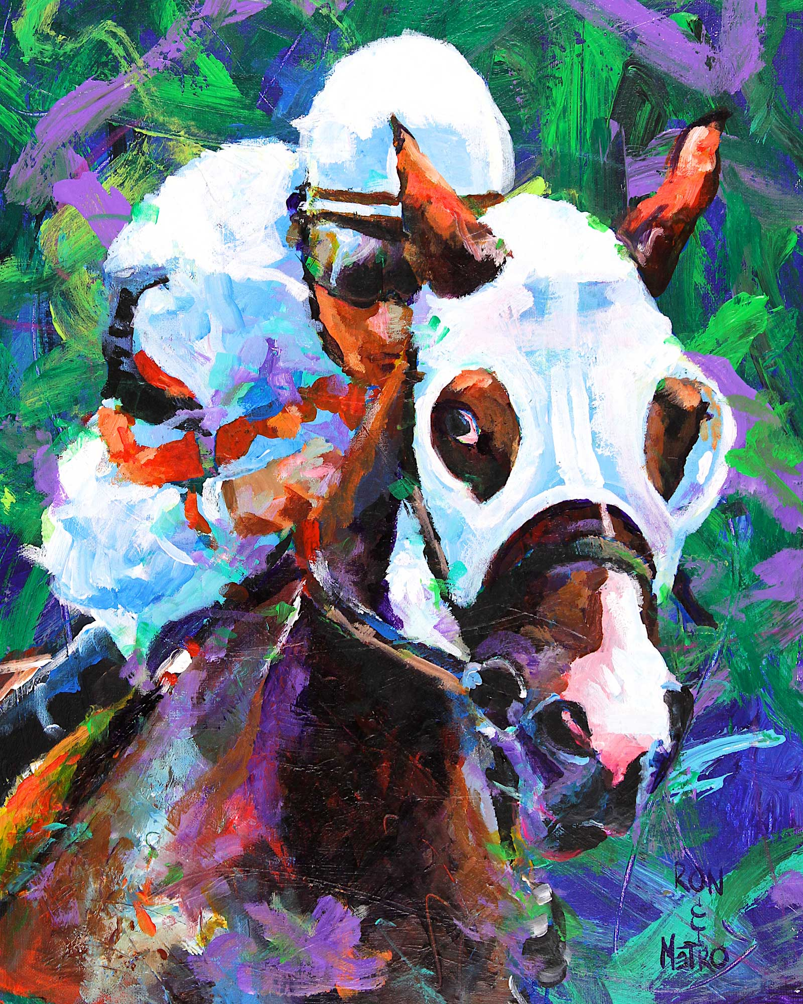 Thoroughbred Racehorse 061114 - Ron Krajewski Art