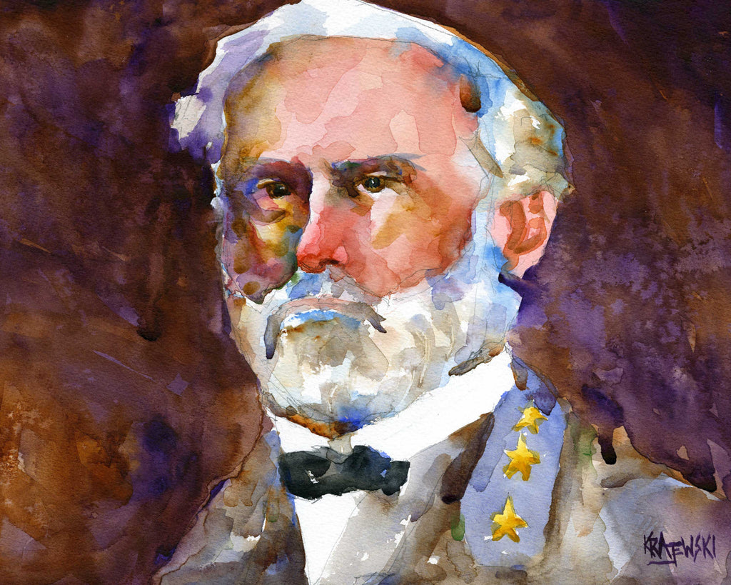 Robert E. Lee 101812 - Ron Krajewski Art