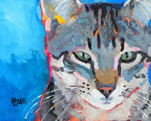 Tabby Cat 082910 - Ron Krajewski Art